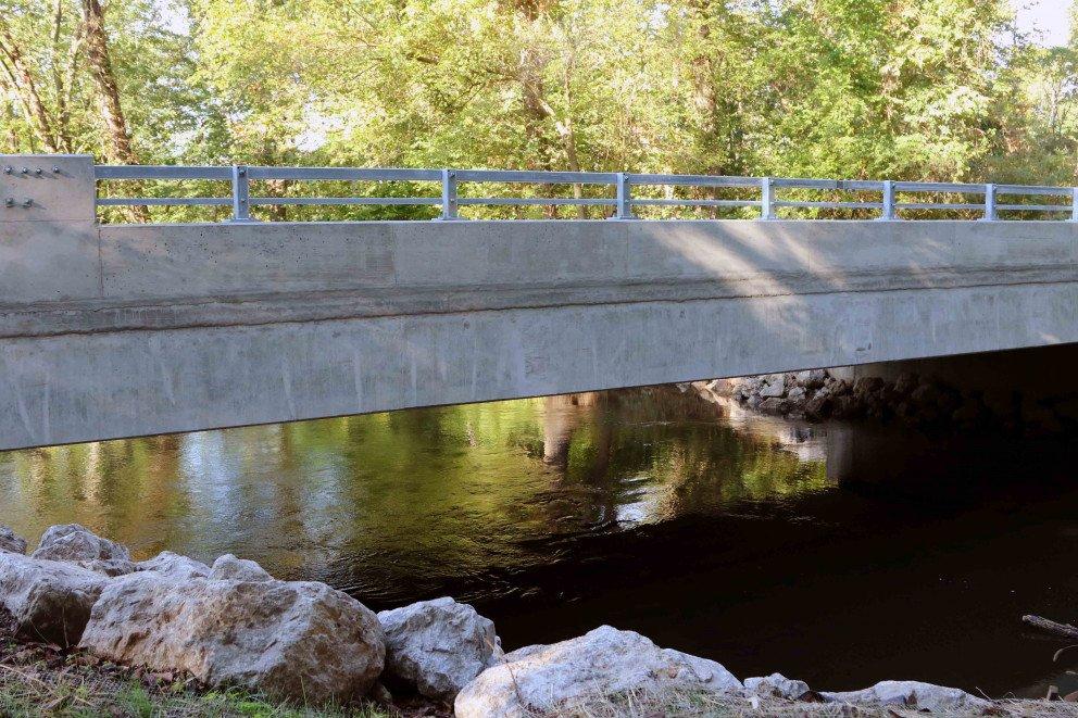 Sink Road Bridge Sidewall