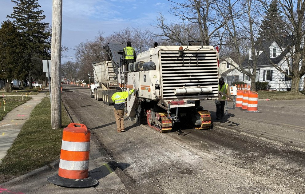 Removing Existing Pavement
