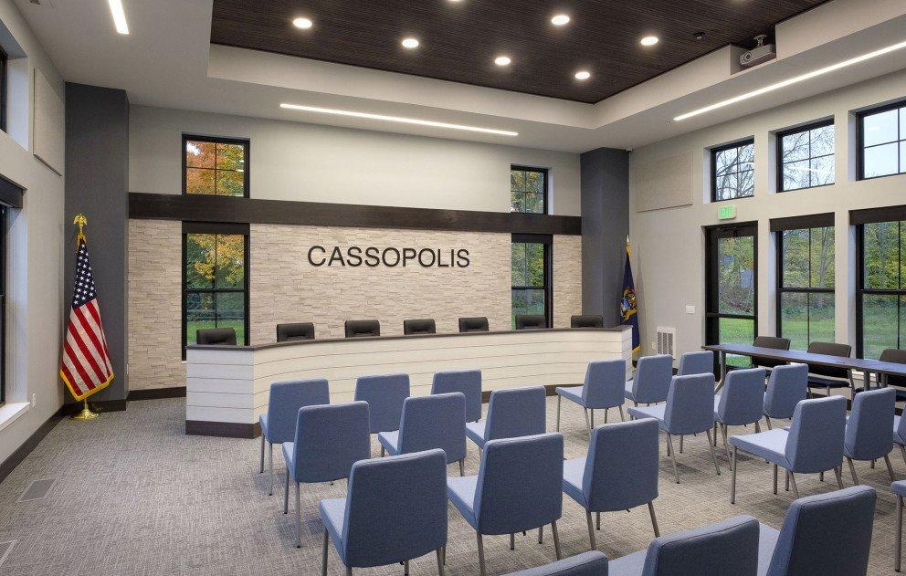Cass Municipal Building Chambers