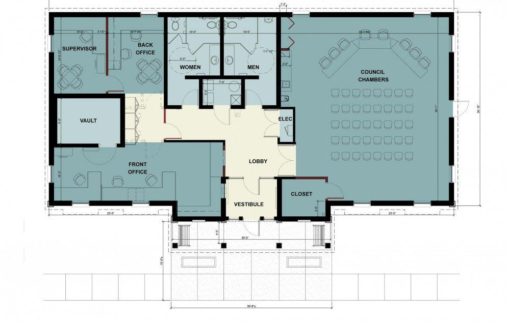 Hartford Twp Hall Floor Plan