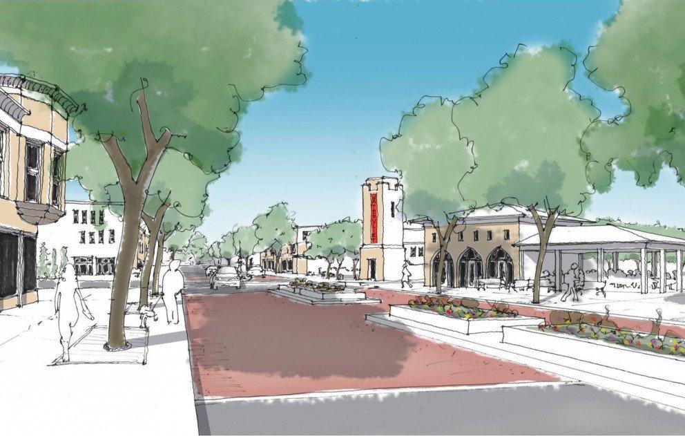 City of Watervliet Downtown Rendering