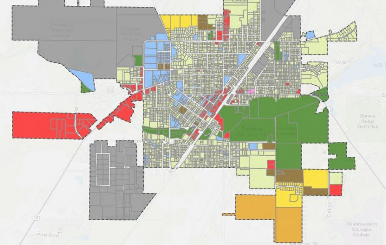 Dowagiac Land Use Map