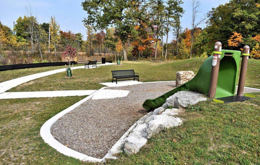 Schuur Park Slide