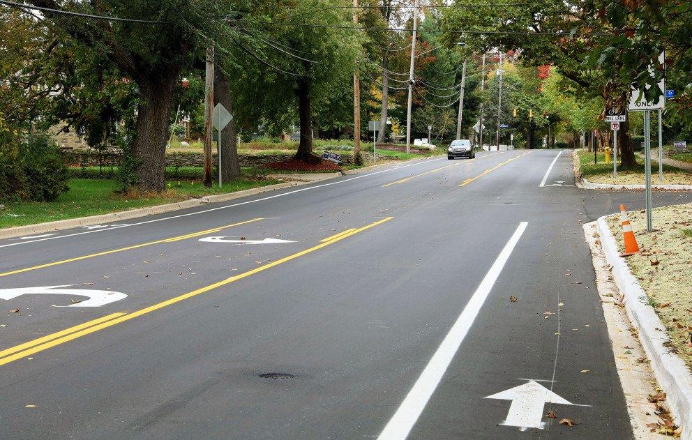 Oakland Drive With Bike Lane