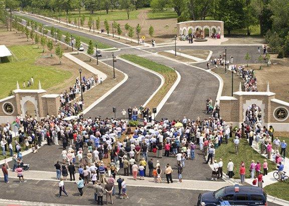 Andrews University Campus entrance dedication