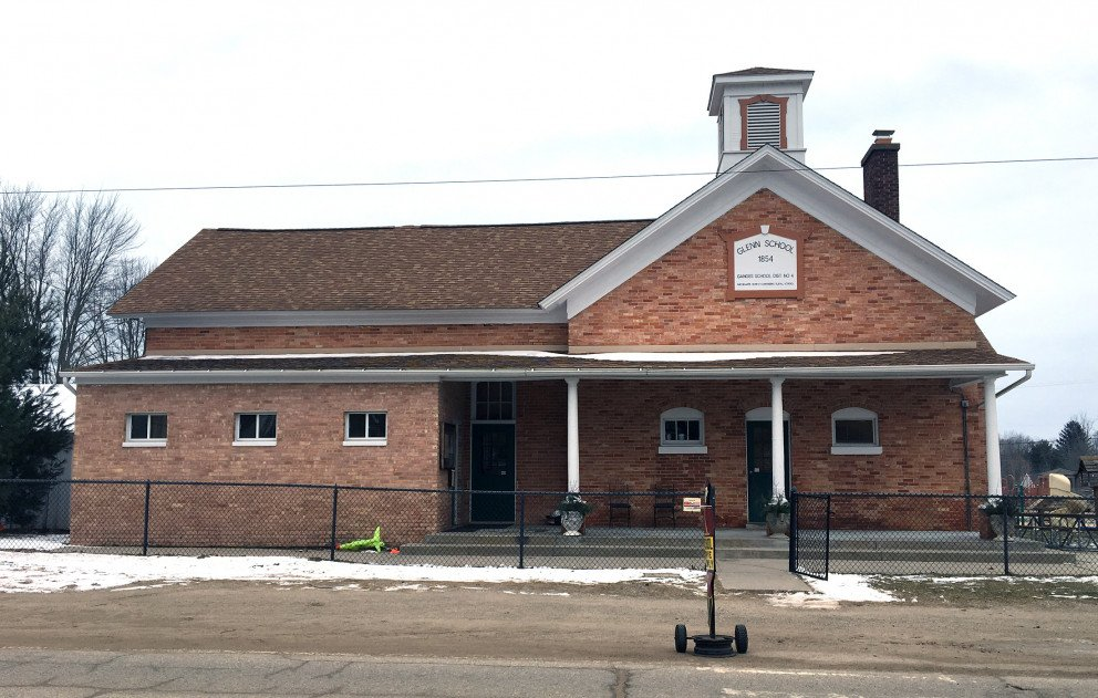 Glenn Public Schools Exterior Front View