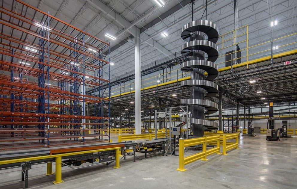 Lane Automotive circular conveyor