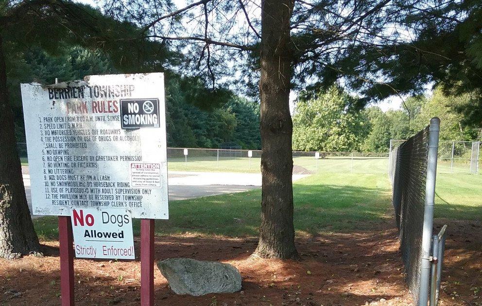 Range Line Park signage