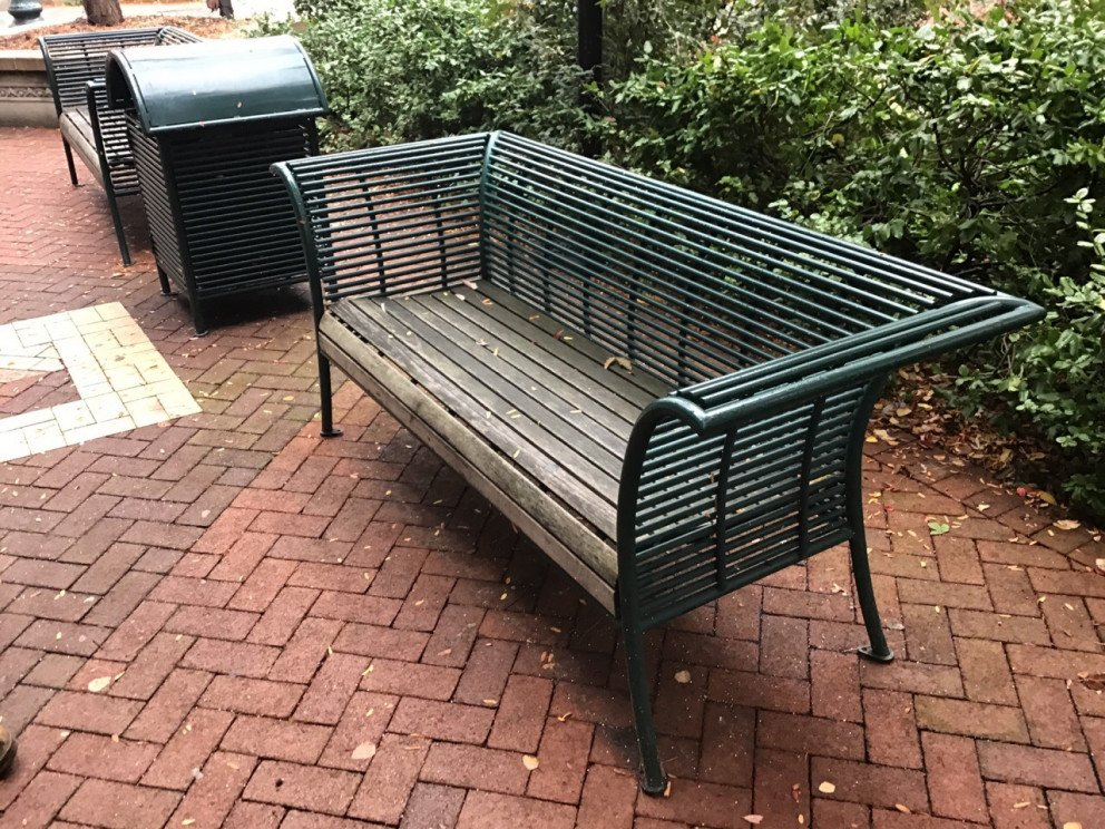 Kalamazoo Sidewalk Assessment Bench