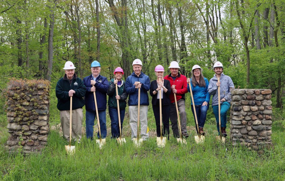 Indiana Michigan River Valley Trail Phase 2 groundbreaking
