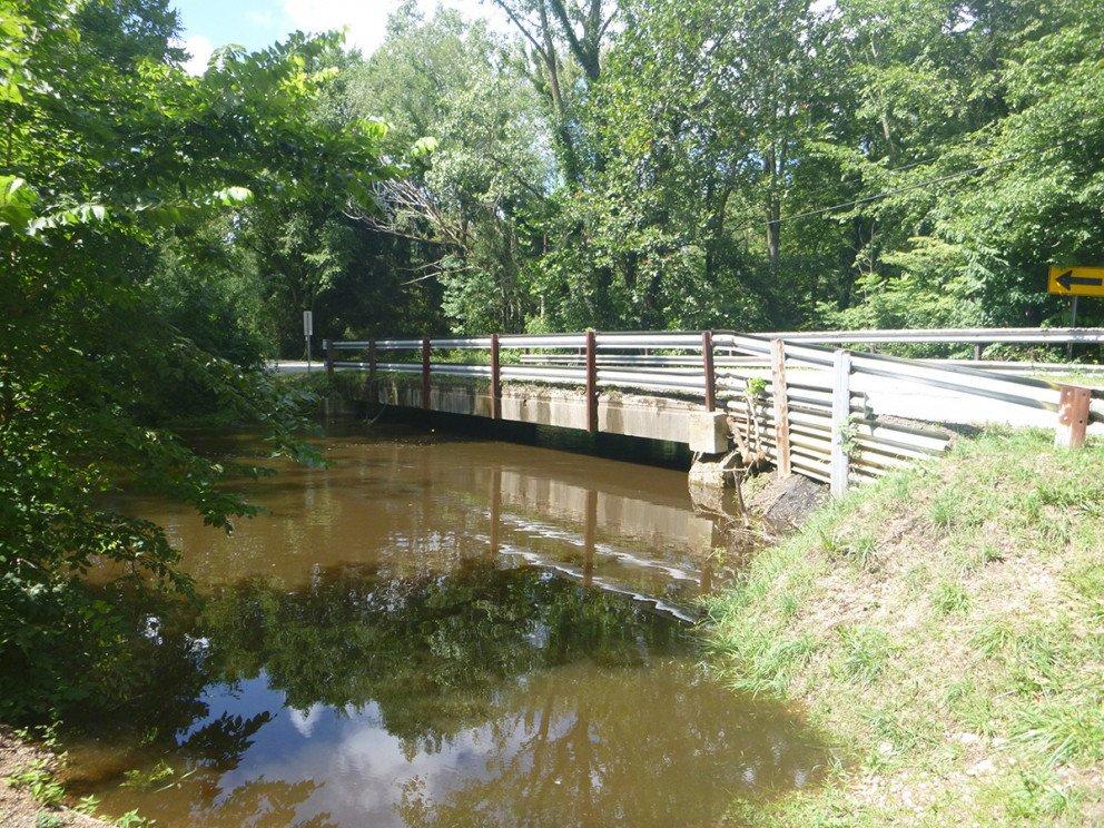 Sink Road Bridge Pre Construction