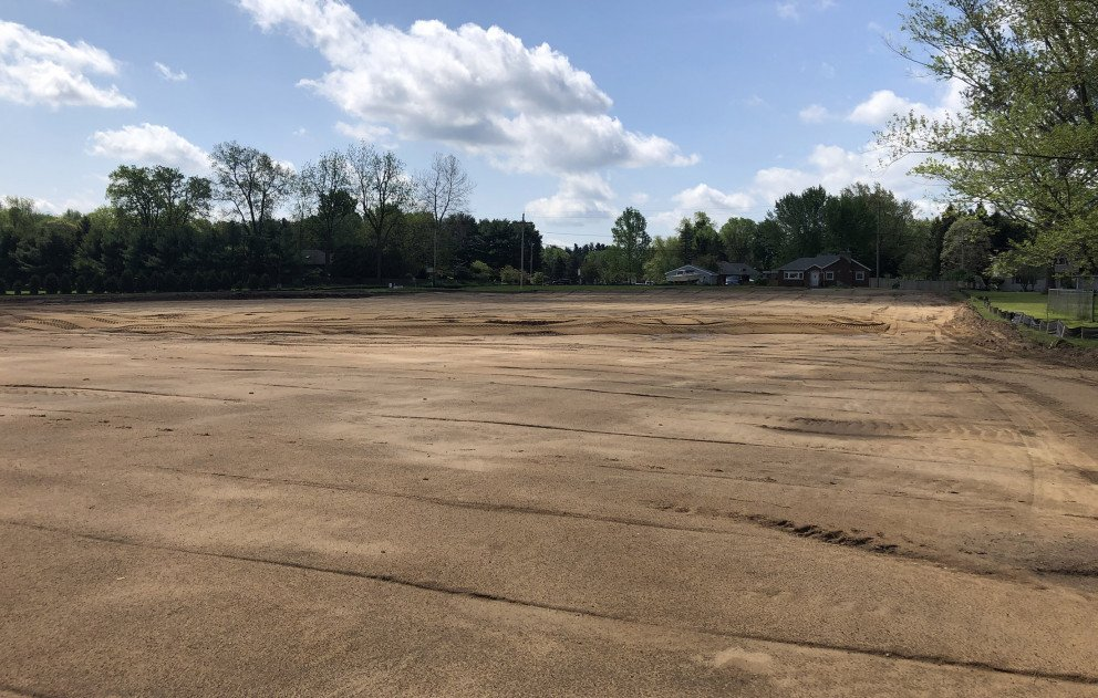 Brandywine Tennis Courts Site Work