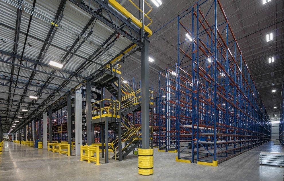 Lane Automotive plant columns